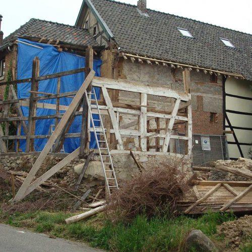 restauratie vakantiehuisjes schweiberg