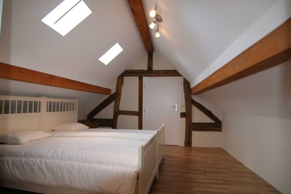 slaapkamer vakantiehuis schewiberg