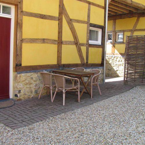 terras twee vakantiewoning schweiberg